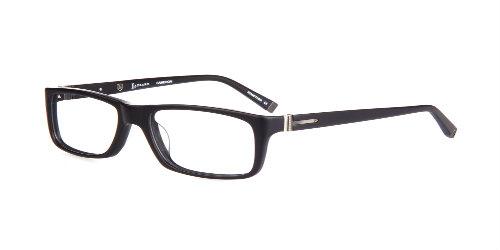 Lazzaro eyewear Cameron matte black mens frames