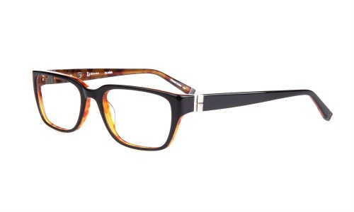 Lazzaro eyewear Oliver black/tortoise mens tendy plastic frames