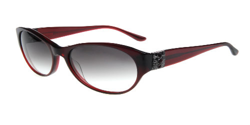 Nicole Designs Jenna-burgundy sunglasses rxable