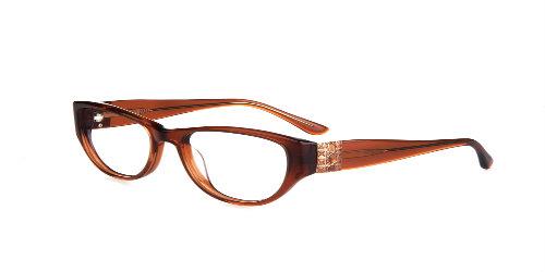 Nicole Designs Krista-brown sunglasses rxable