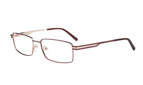 Wide Guyz eyewear Lucky brown large eyesize frames