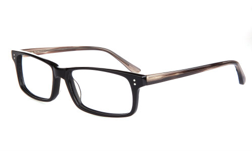 Wide Guyz eyewear Untouchable black brown Large eyesize frames
